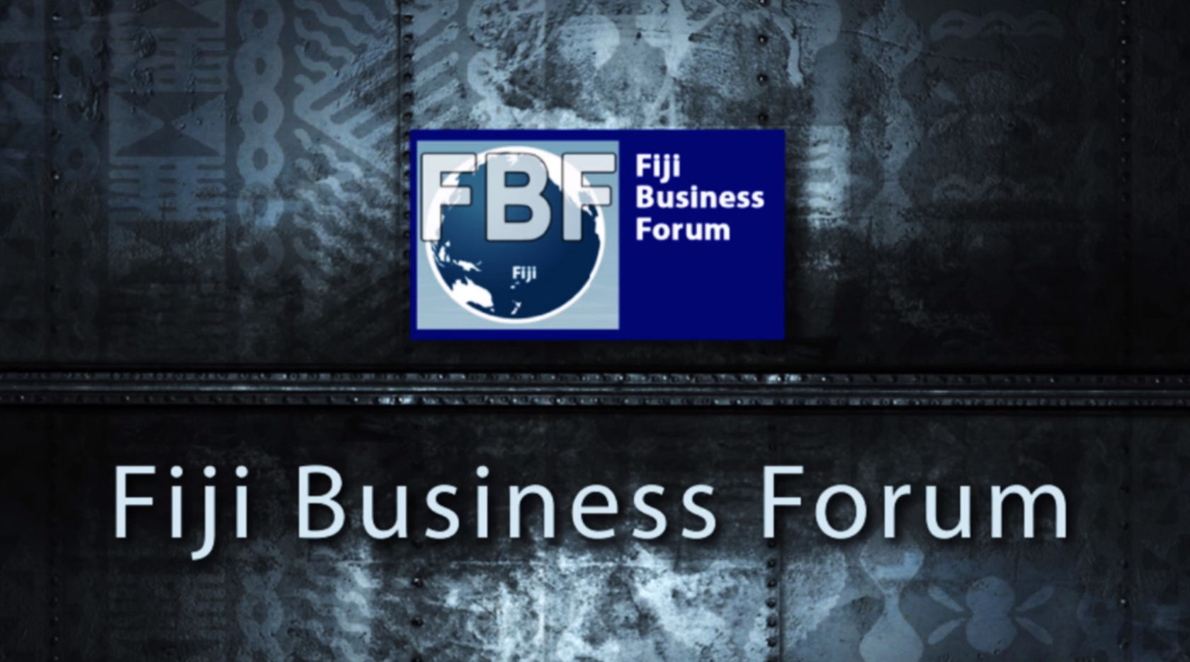 Fiji Business Forum 2013