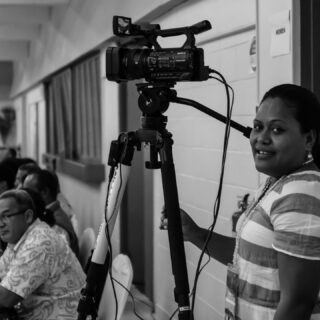 Throw back - June 2019. Camera Operator > Christine Mallam! 😎😎 #mokofiji #multicamproduction #filmfiji